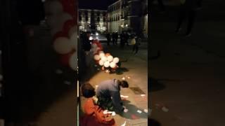 Köpeğin balonlar' la dansı..😎