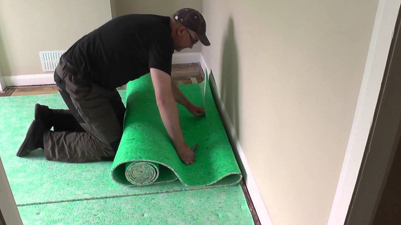 Diy Fitting A Carpet Part 1 The Underlay