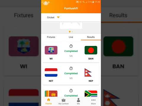 Funtush11 | Play Real Fantasy Cricket & Football Games