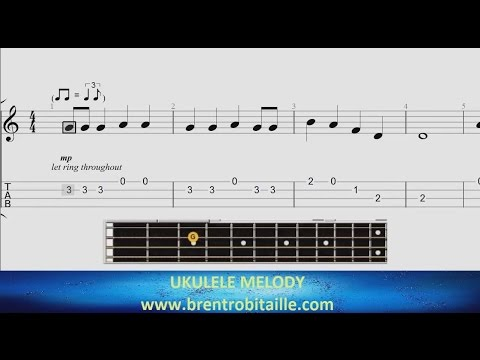 Ukulele Tab - Rockin Around the Christmas Tree - Easy Uke!