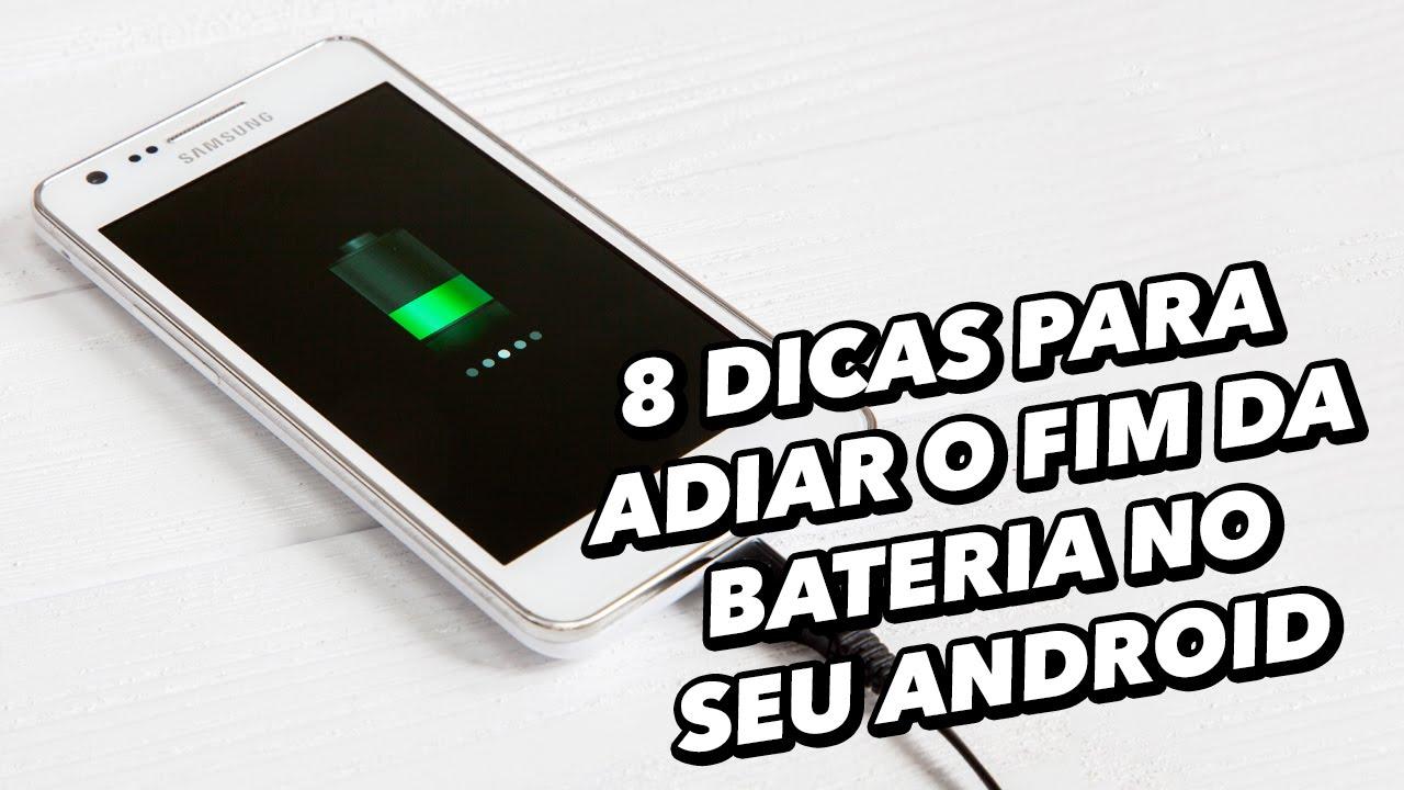 f80eff74155 8 dicas para adiar o fim da bateria no seu Android - TecMundo - YouTube