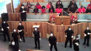 greater faith mime troop smile by kirk franklin