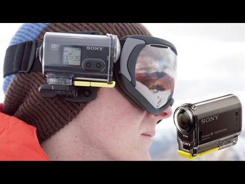 Unboxing Sony HDR-AS20 Action Camera