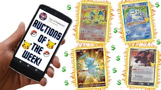 Pokémon Auctions Of The Week- Celebrations Flood On The Way!