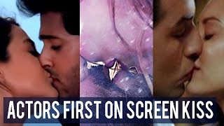 When Bollywood actors kissed for the first time on screen!