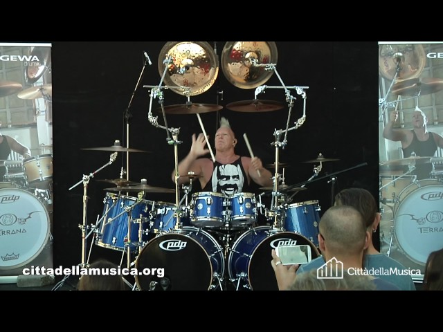MIKE TERRANA - Drum Clinic