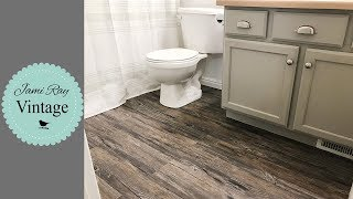 Bathroom Makeover Part 2   Floors