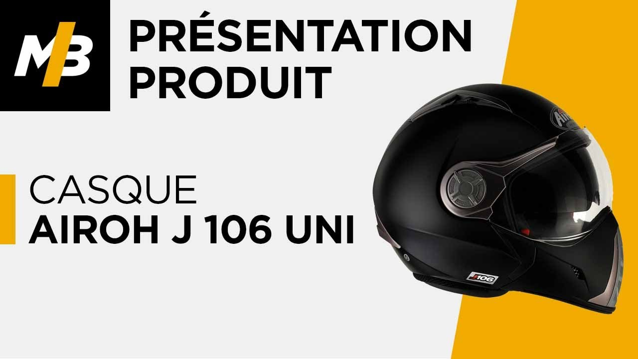 Casque Airoh J 106 Uni Youtube