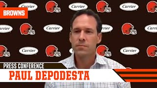 Paul DePodesta | Jeremiah Owusu-Koramoah Post Pick Press Conference | Cleveland Browns