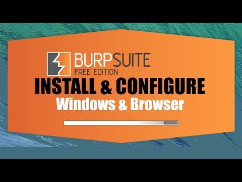 Burp Suite Installation & Configuration In Windows & Browser   Installing CA Certificate 🔥