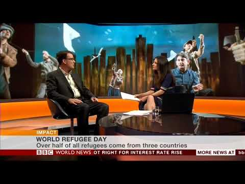 BBC World News Impact - Interview with Matthew Spangler, World Refugee Day