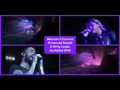 Maroon 5 Concert Ft Conrad Sewell + Dirty Loops│Vleek #19│ThatsNat04