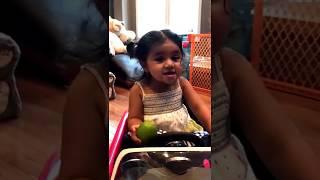 funny Cute Baby saying Ni amma in telugu