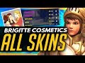 Overwatch | BRIGITTE LEGENDARY SKINS AND COSMETICS