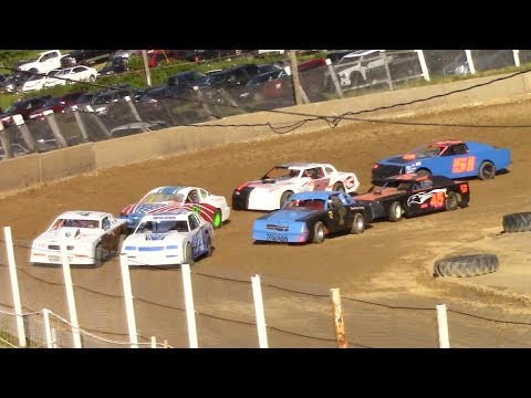 Pure Stock Heat Three | Old Bradford Speedway | 6-11-17