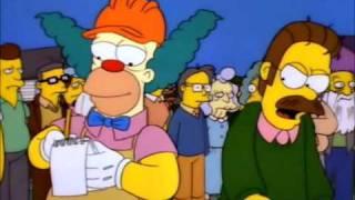 The Simpsons S08E08 Hurricane Neddy - Ned Explodes