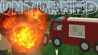 Unturned Episode 4-CAR EXPLOSIONS EVERYWHERE!