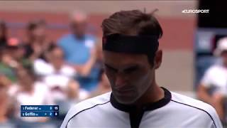 Роджер Федерер — Давид Гоффен. US Open-2019. Обзор матча