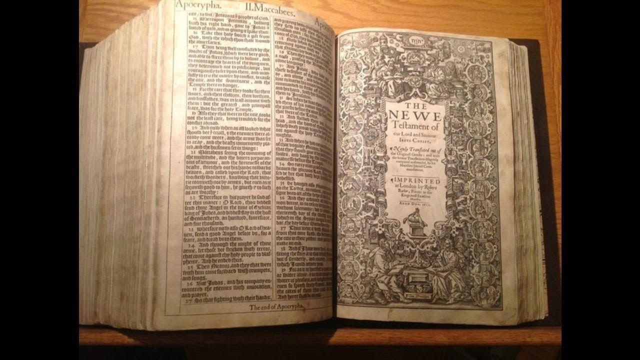 1 John 3 - KJV - Audio Bible - King James Version Dramatized 1611