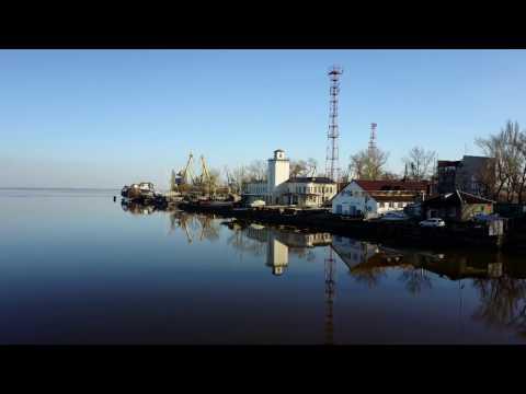 В Таганрог приходит весна. Съемка с квадрокоптера DJI Mavic Pro