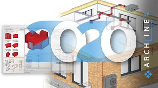 Világítási terv, épületgépészet és padlófűtés az ARCHLine.XP 2020-ban Webinar