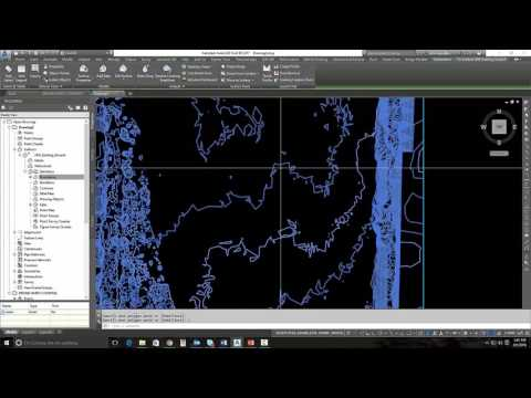 Drone to Design (D2D) Part3 Video - Create Surfaces from Point Clouds in Civil3D