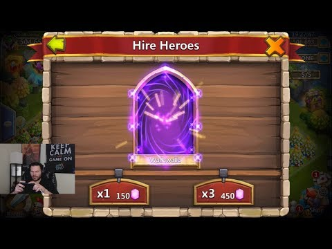 JT's Main Hero Collector For HaLLoWEEN Castle Clash