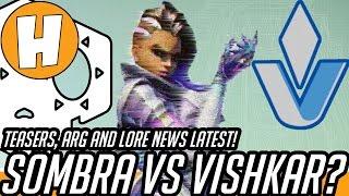 Overwatch - Is Sombra Fighting Vishkar? ARG Latest News!