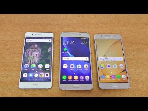 Samsung Galaxy J7 & J5 (2016) vs Huawei P9 Lite Review & Camera Test! (4K)