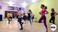 "Warm up in the styles of aerobics! Trainer fitness Studio ""MIXfit"" Klycheva Anastasia."