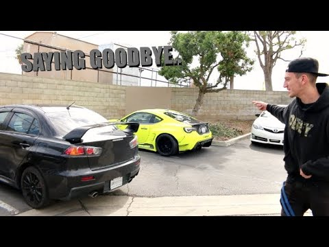 EVO X GETS WRAPPED Dropping Off The Car..