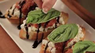 Roasted Tomato, Feta And Goat Cheese Bruschetta - Wholly Kitchen™ Recipe How-to's