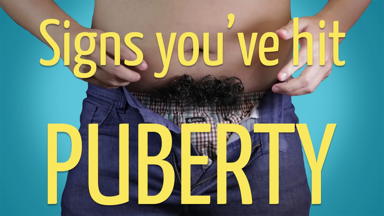 Signs You've Hit Puberty