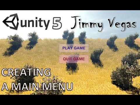 Mini Unity Tutorial - How To Create A Main Menu - Beginners Tutorial