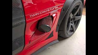 How to fit a lightweight alternator bracket to a SW20 Toyota MR2