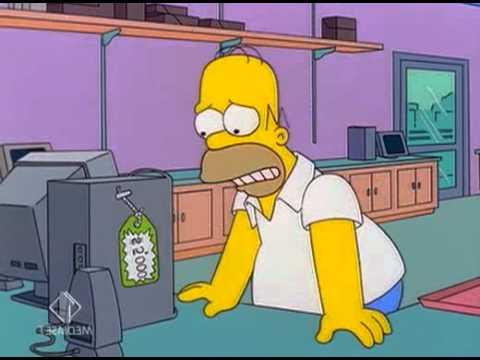The Simpsons - Homer compra il PC [ITA]