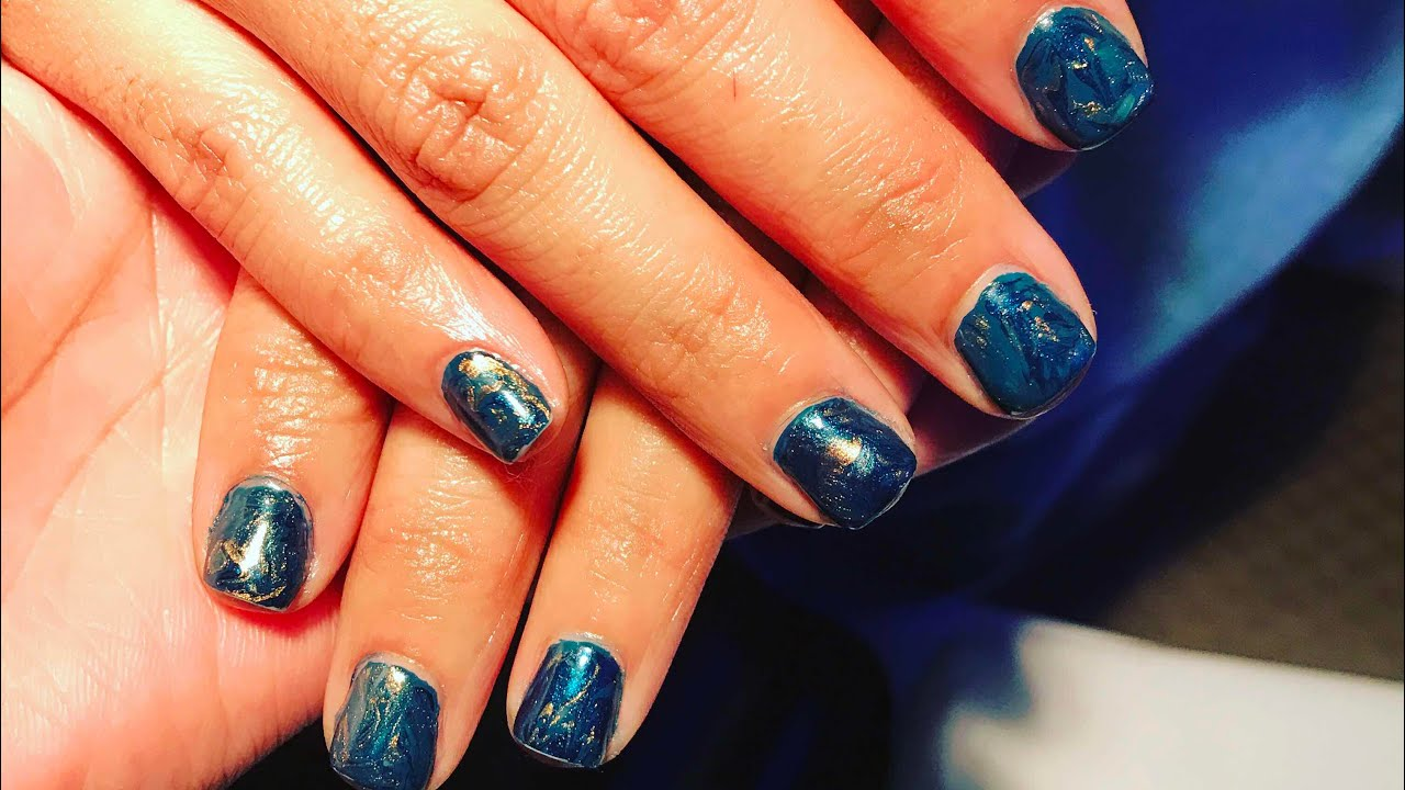 How To Do A Gel Manicure - YouTube