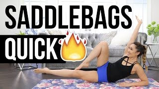 Video Quick Burn SADDLEBAGS Slimdown! Best Outer Thigh Workout! download MP3, 3GP, MP4, WEBM, AVI, FLV Agustus 2018