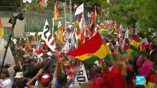 Protestas en Bolivia: las marchas piden inhabilitar la candidatura de Morales