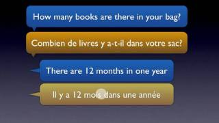 Il Y A in French