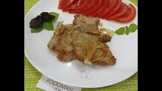 Стейк из свинины на сковороде: рецепт от Foodman.club
