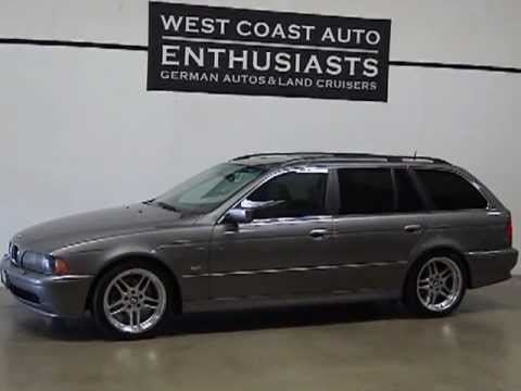 2003 BMW 525i Sport Wagon  YouTube
