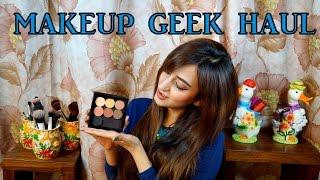 Makeup Geek Haul - An Indian Experience! | Aishwarya Kaushal