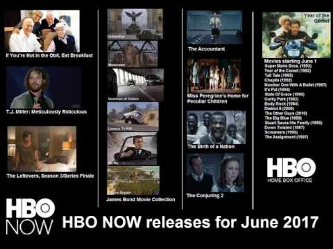 Download HBO NOW releases for June 2017