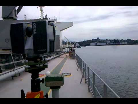 3D Laser Scanning Marine Surveying -- Ship Hold As-Built Survey