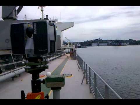 3D Laser Scanning Marine Surveying -- Ship Hold As-Built Survey