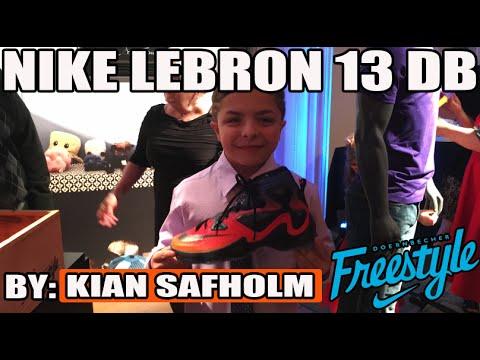 Nike Lebron DB 13 w/ Kian Safholms! In Hand Review! (Doernbecher Freestyle 12)