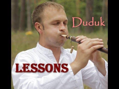 №16 Duduk Lessons. Уроки игры на дудуке - полутона