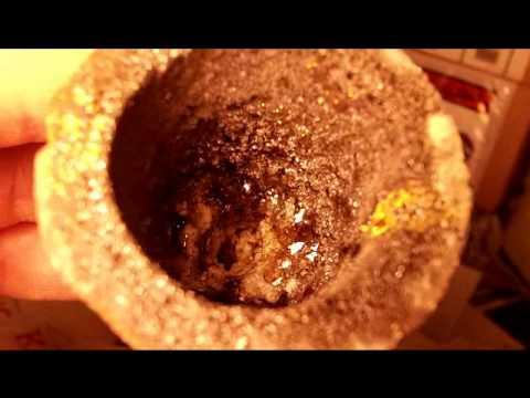 Microwave Gold Melt Pt3