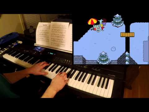 Undertale - Snowy - Piano & Clarinet